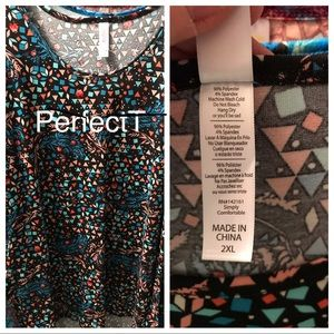 2XL LulaRoe Perfect T